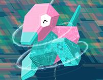 Pokédex Ec - Porygon #137