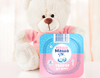 Nasha Masha. Diary products for babies