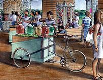 Expendios de Comida - El Mercado - Nuevo Vallarta