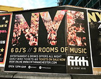 Street and Interior posters - Fifth Nightclub