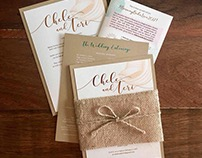 Chele & Teri Wedding Invite
