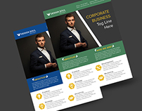 Free A4 Corporate Flyer Template