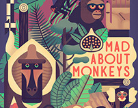 Owen Davey - Mad About Monkeys