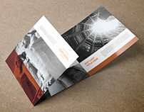 Egypt - Square Trifold Brochure Template