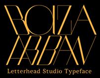 Bazaarban Typeface