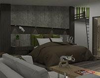 07/2015 Diseño Interior Habitación/Interior Design Room
