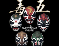 Five Deadly Venoms figures