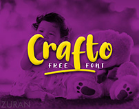 Crafto - Free Font for commercial use