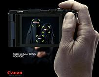 CANON   Humanity campaign