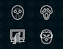 Horror Movies Character Icons