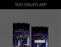 VGO Valet App UI Design !