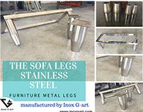Contemporary Furnitures Legs - Sofa Legs -Metal Legs