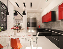 Apartment concept, Moscow, Russia 2015