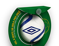 Umbro POP ~ Buy and win ball.