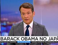 Edição da Noite — On-air News Design