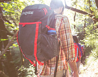 Jansport Outdoor Lifestyle Shoot