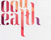 Typography - Good health in the year of the sheep