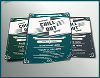 Chill-Out Lounge Flyer Template