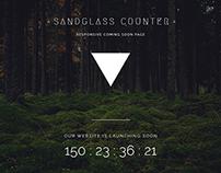 Sandglass - Responsive Countdown Template