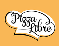 Pizza Libre / Logo Design