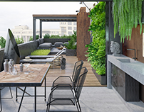 Lounge_terrace_Venice not Venice apartment
