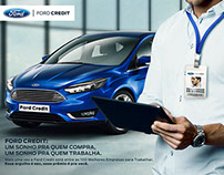 Campanha de Endomarketing - Ford Credit