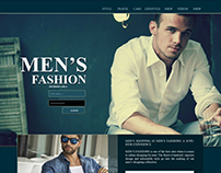 UI Design -MEN'S Fashion
