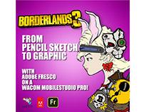 Adobe Fresco: Borderlands 3