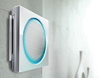 LG - ArtCool Stylist Air Conditioner