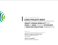 INDIA 2050 AUTOMOTIVE AUTONOMOUS INTERIORS AND SEATING