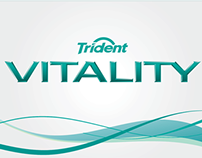 Trident Vitality | Brand Lettering/Logotype