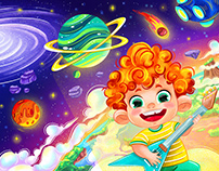 CHARACTERS design & illustrations for children's school