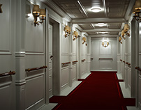 Titanic Hallway