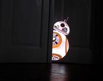 BB-8 video mapping