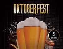 Oktoberfest - Free Photoshop Flyer Poster Template
