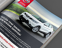 ADVERTISING DESIGN, AUTOMOTIVE COMPANY