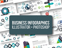 Business infographics pack