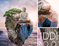 Buddha Party Flyer Template + CD cover