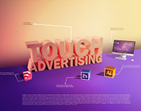 Touch advertising