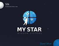My star. Web-design.