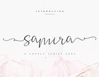 SAMIRA A LOVELY SCRIPT FONT