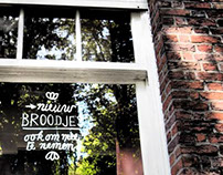 Window lettering Essegem