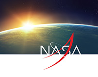 NASA homepage responsive redesign concept