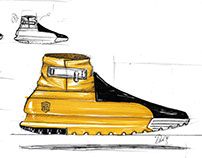 footwear sketches 2017