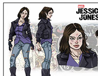 Marvel's Jessica Jones, character sheet sample