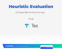 Heuristic Evaluation of Google Tez UPI Payment app