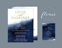 FLOUIE | Wedding Invitation