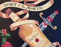 Spirit of the Month 2015 | Chalkboard Art