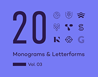 20 Monograms & Letterforms. Vol. 03
