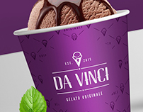 DA VINCI Gelateria | Visual Identity